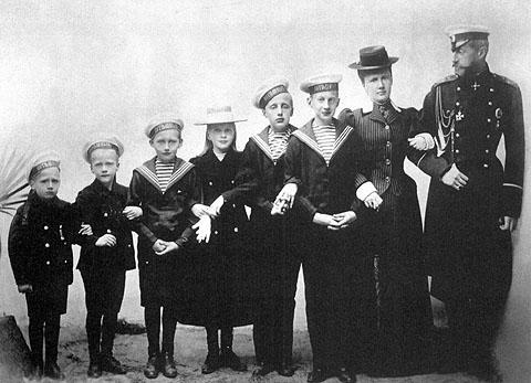 Семейството на Константин Константинович Романов