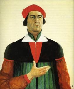 Казимир Малевич. Автопортрет. 1933